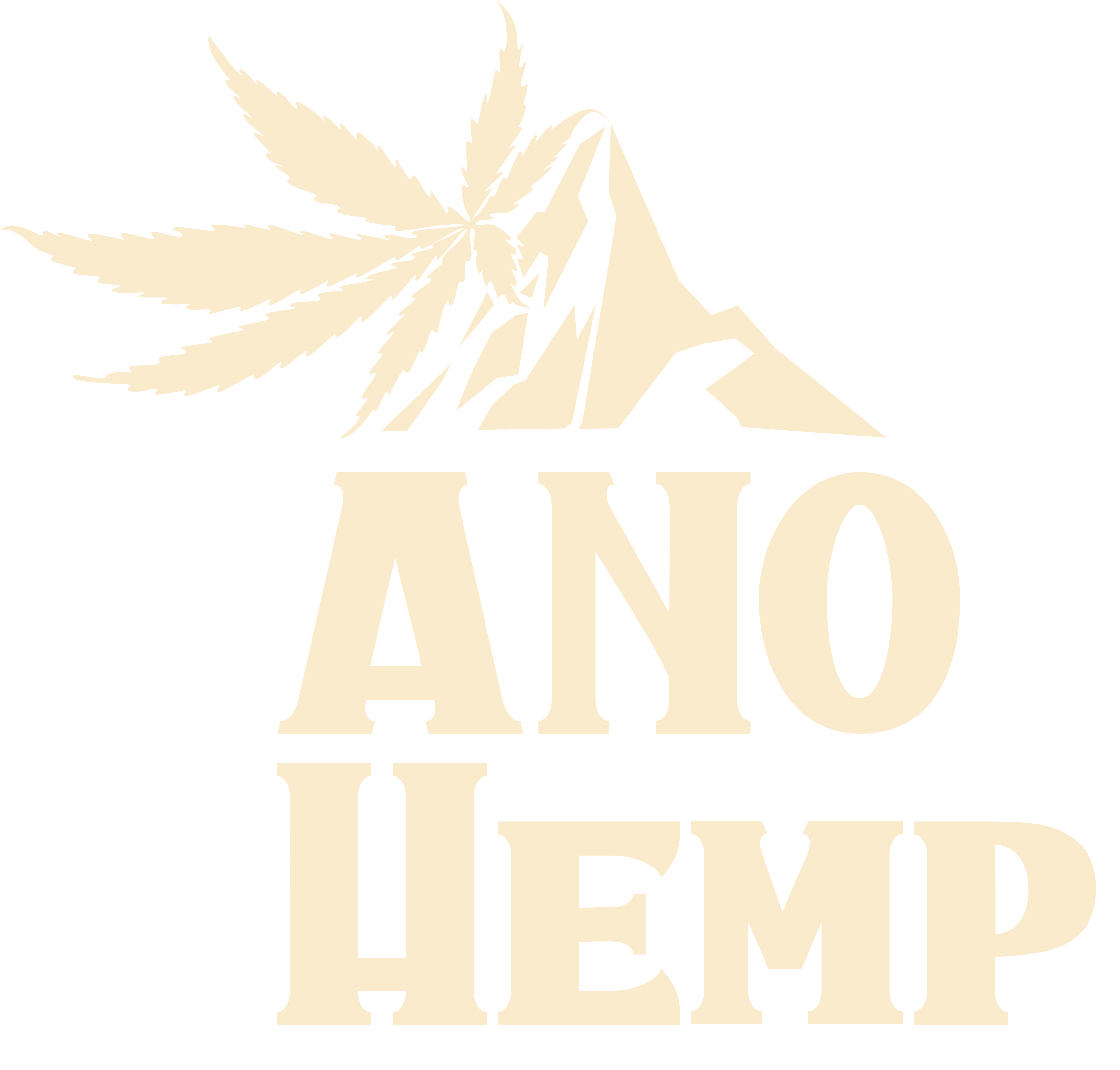 ANO Hemp Logo Light