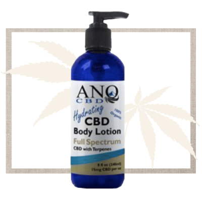 ANO CBD Lotion with Leaf
